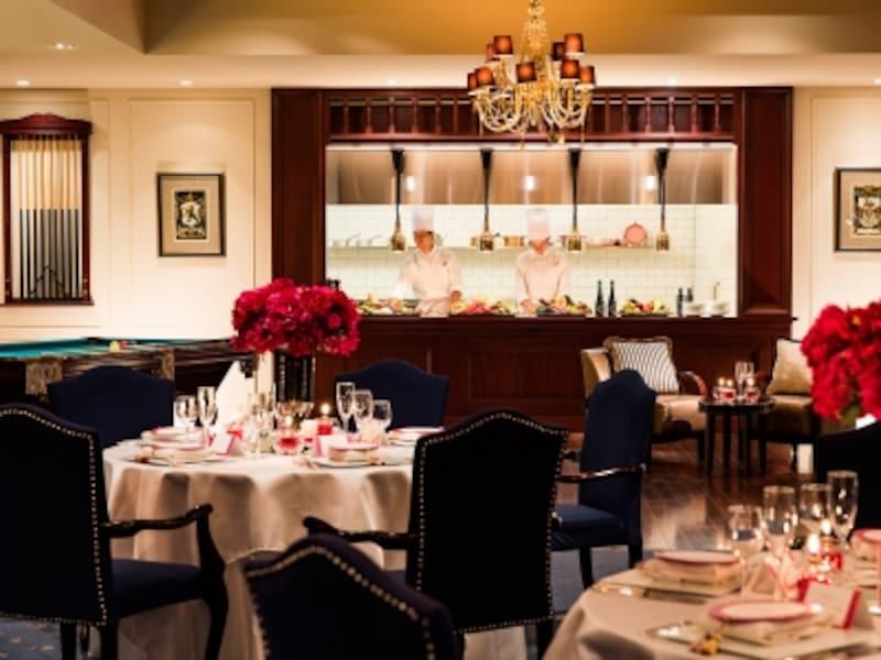 後に「ゴスケ」の料理長となる田中シェフ(宇梶剛士)のレストランも「横浜迎賓館」にあります。宴会場のひとつ「TheKensington」(画像提供:横浜迎賓館)