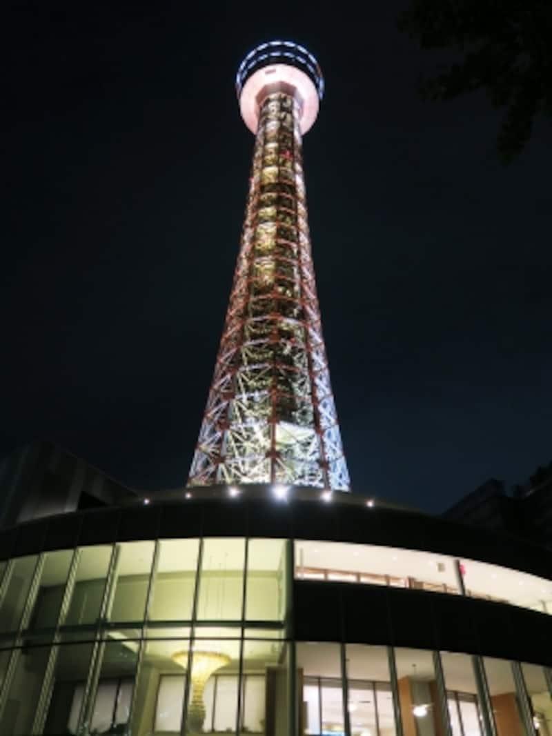 美咲に条件を言い渡されたのは横浜マリンタワーのふもと(2016年8月14日撮影)
