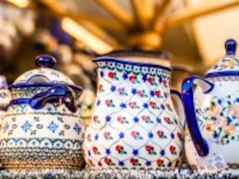 ボレスワヴィエツなどの陶器