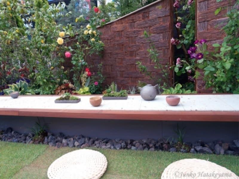 ガーデン部門「庭カフェundefined野点風」