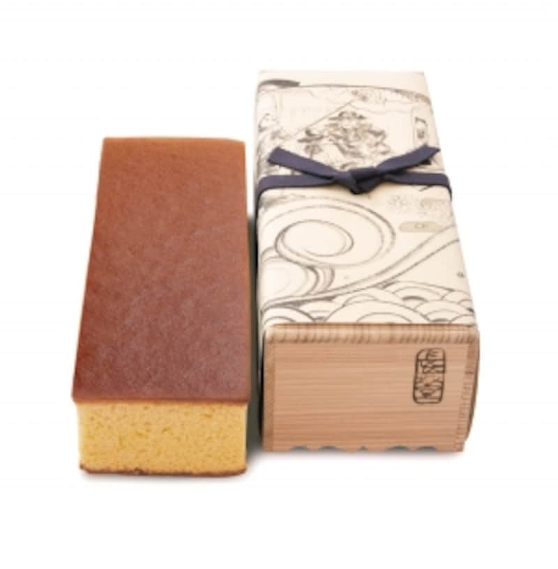 長崎堂復元カステーラ杉箱入(中)