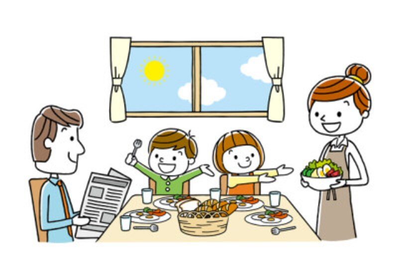 子どもの成長で食費は増加!対策は?