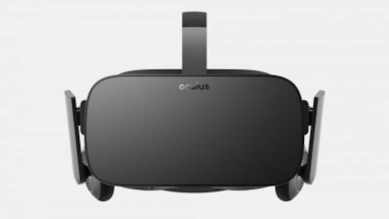 VRの火付け役「OculusRift」。このようなHMDを装着することでVRを体験できる。