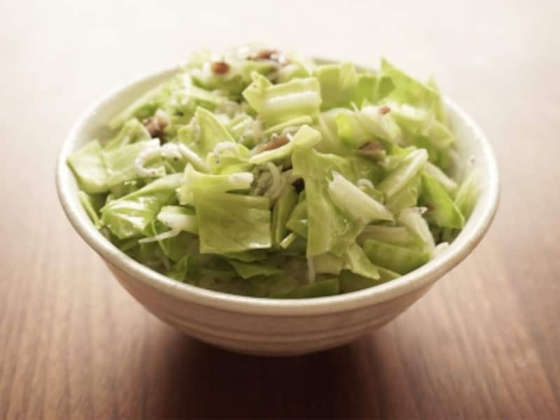 キャベツアンチョビ丼