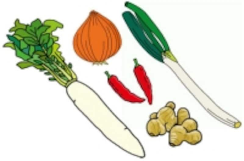 秋が旬の食材が生臭いニオイを防ぐ
