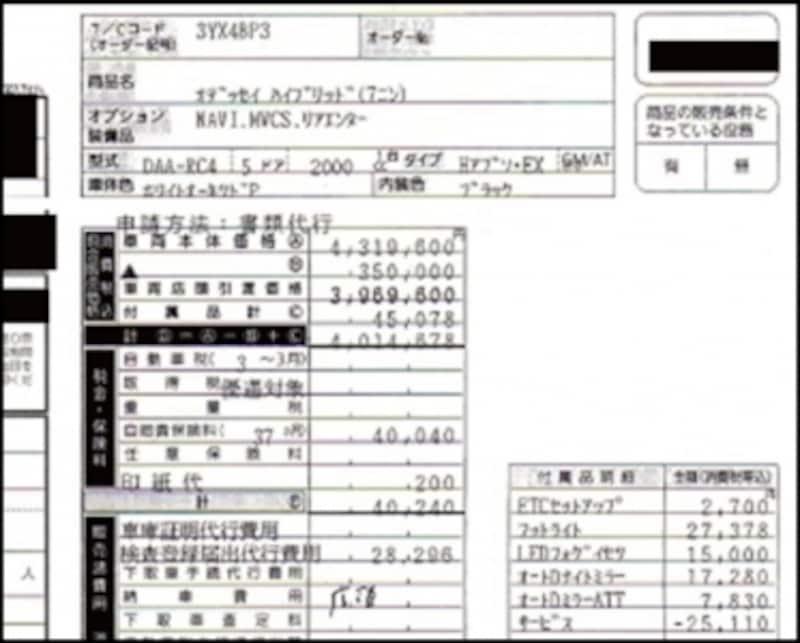 オデッセイハイブリッドアブソルートEXパッケージ(7人)