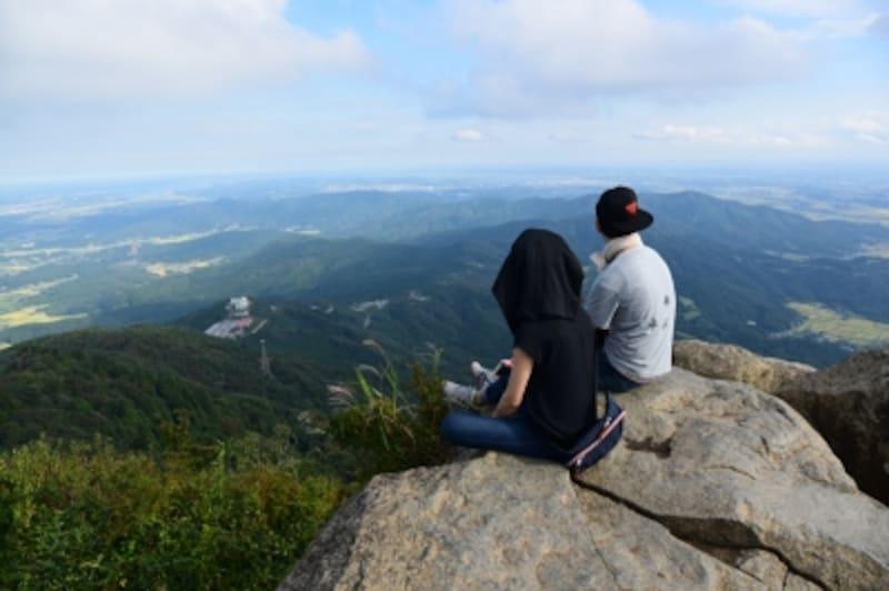 筑波山山頂からの眺めは、まさに絶景!