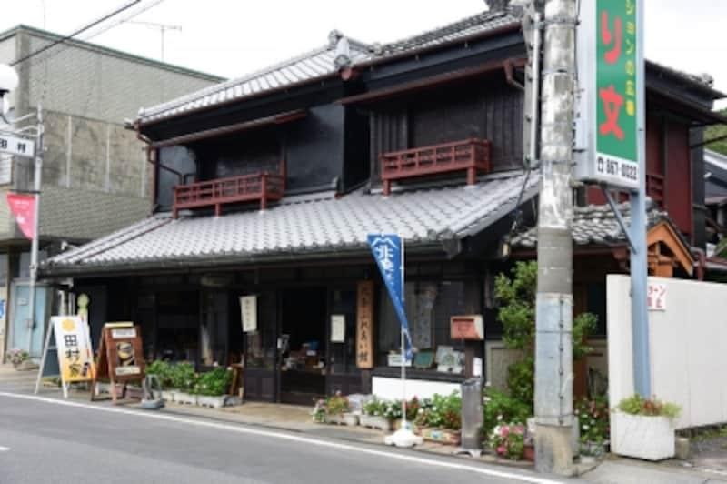 元は呉服店という古民家を改装した『北条ふれあい館』。この辺りの「北条」という地名は、鎌倉や小田原の「北条氏」とは関係ないそうだ