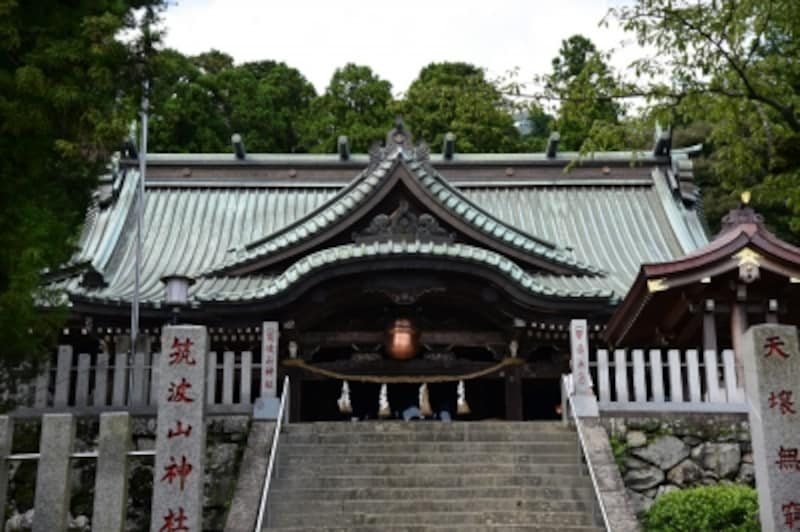 筑波山神社の社殿