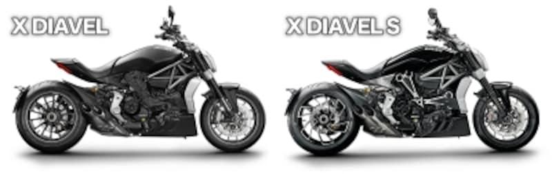スタンダードなXディアベルと、ハイグレードな装備が加わったXディアベルSの2タイプが用意されている
