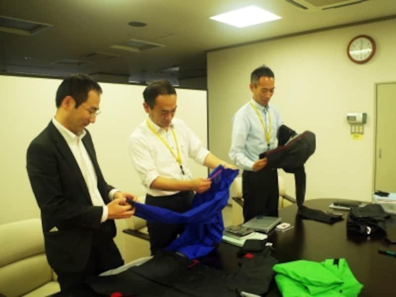 左から中村さん、八木さん、柏田さん