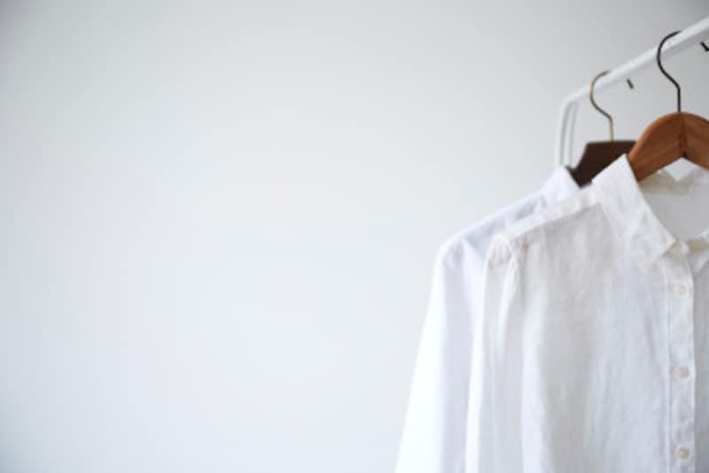 白いシャツにも御用心!