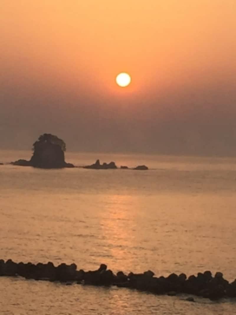美しい朝の風景