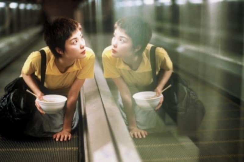 『恋する惑星』で一気に有名になったヒルサイド・エスカレーター(C)1999,2008Block2PicturesInc.AllRightsReserved.