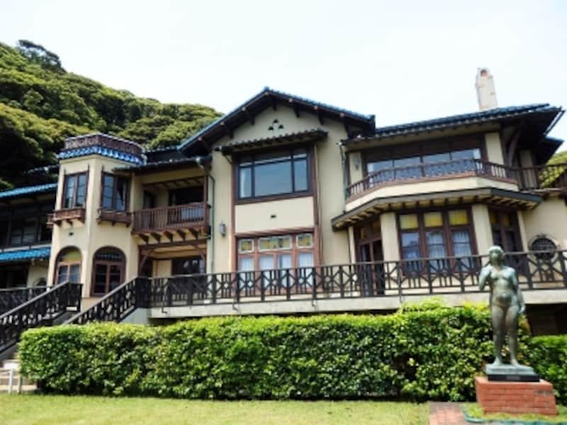 鎌倉文学館の建物