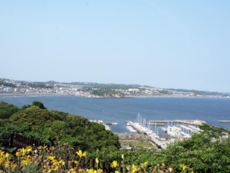 展望灯台から望む鎌倉・湘南の海
