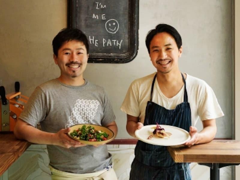 原さん(右)と後藤さん(左)