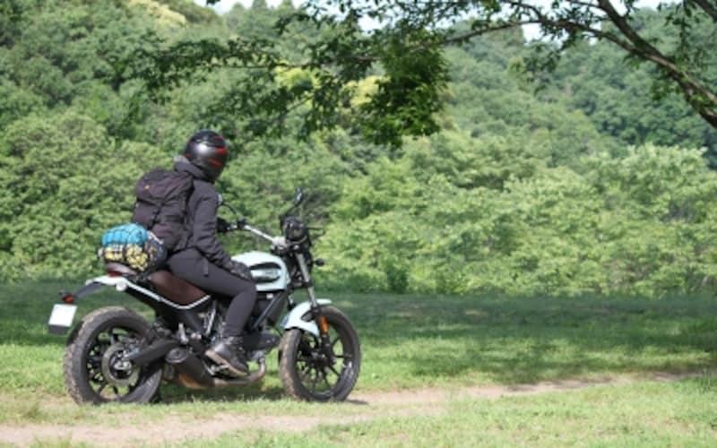 バイクで行くキャンプツーリングは最高のアクティビティ