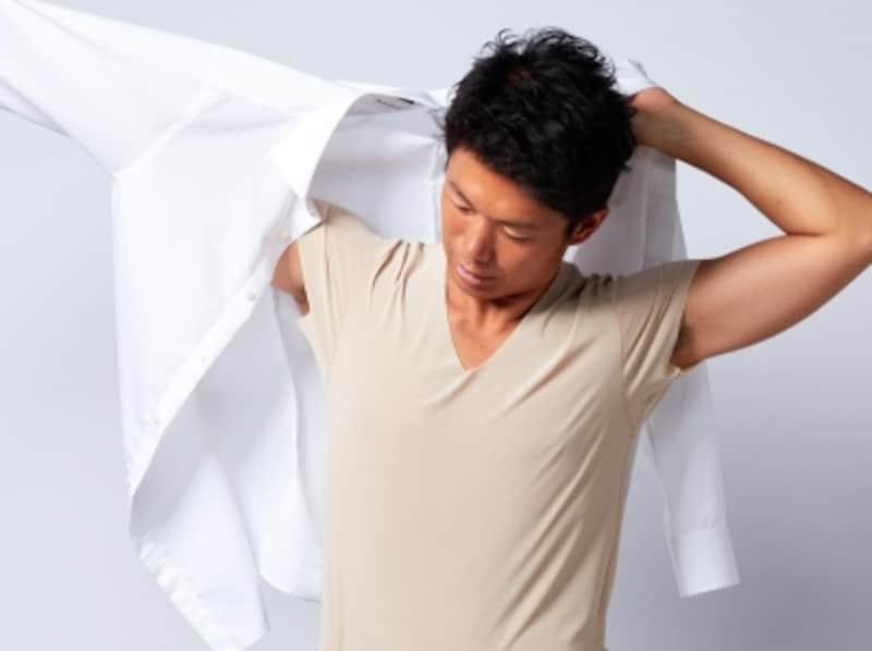 ワイシャツ,インナー,下着,シャツ,透ける,透けない