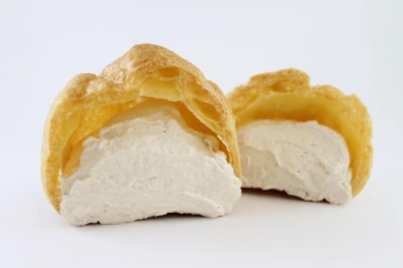 白い珈琲シュー