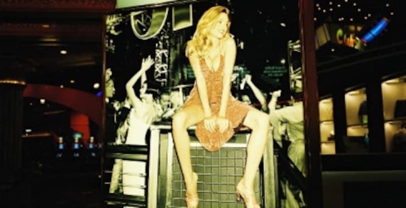 写真はMGMグランドラスベガスのカジノにあるディスコ(クラブ)※松井がカジノの許可を得た上で撮影