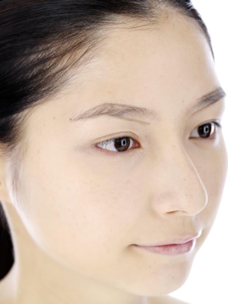 理想の眉バランスで小顔効果もアップ!