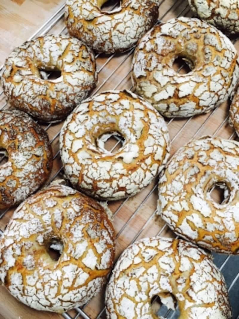 パリのTHIERRYMARXLABOULANGERIEのパン