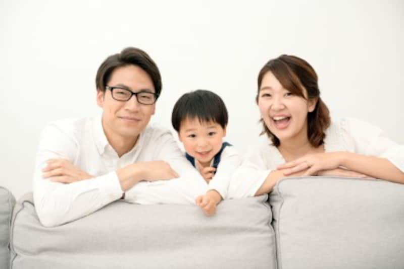 在宅勤務の日は、家族とゆっくり過ごせるね!