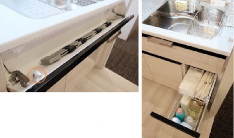 キッチンの工夫の写真