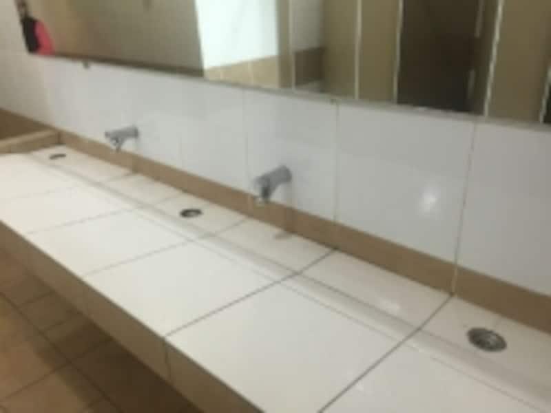 マレーシアのお洒落トイレ
