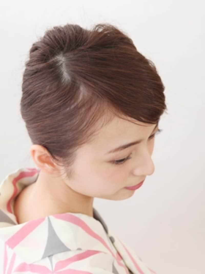 前髪が短い人でもまるでもともと長いかのように見せられるテクニック