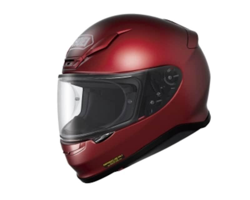 フルフェイスタイプのヘルメット