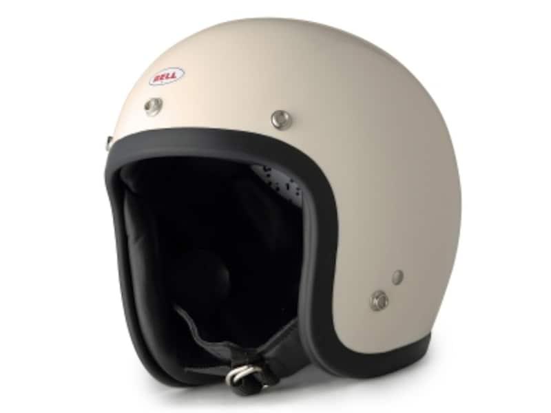 ジェットタイプのヘルメット