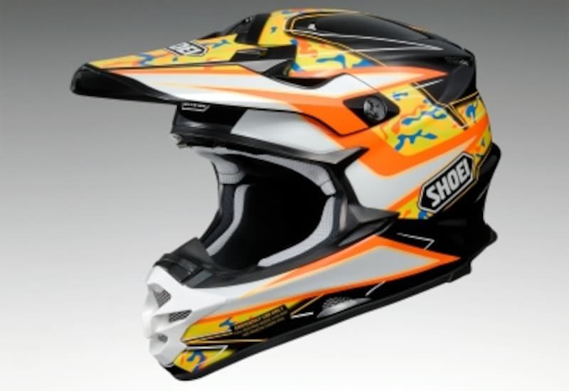 オフロードタイプのヘルメット