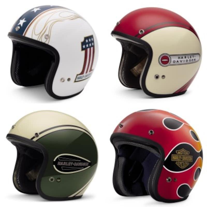 ハーレーダビッドソン純正ヘルメットジェットヘルメットタイプ