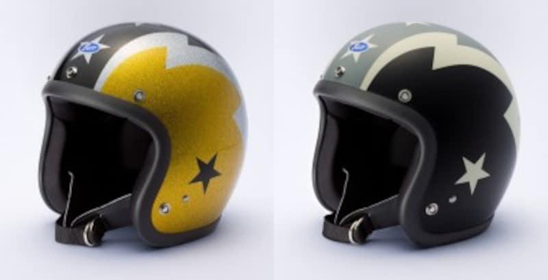 トイズマッコイのジェットヘルメット「BUCOTHUNDERBOLT」(ブコサンダーボルト)
