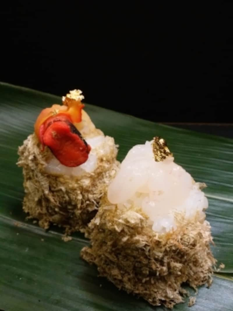 日本海の宝石食べ比べ(富山白エビ・赤西貝)