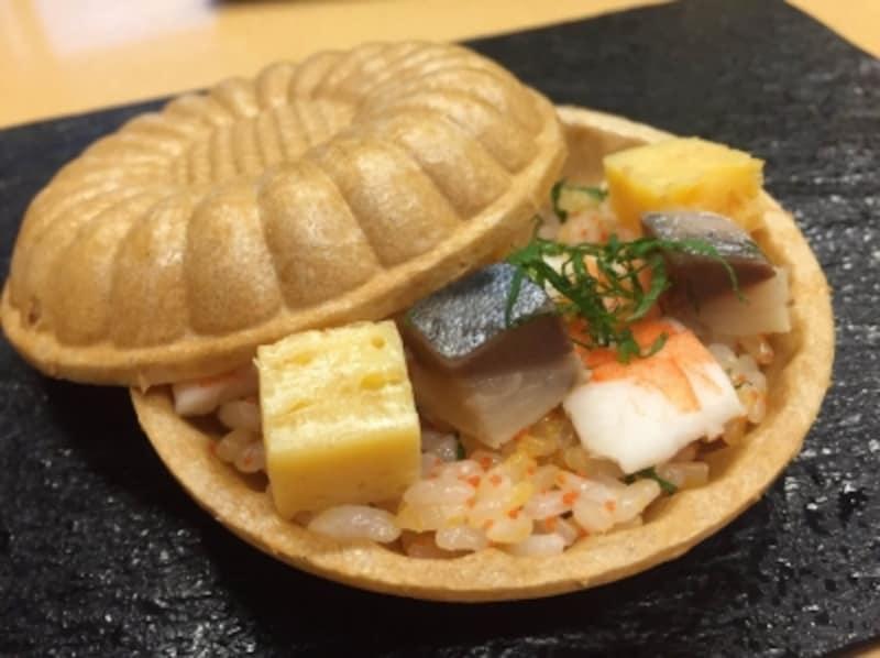 もなかサンド寿司