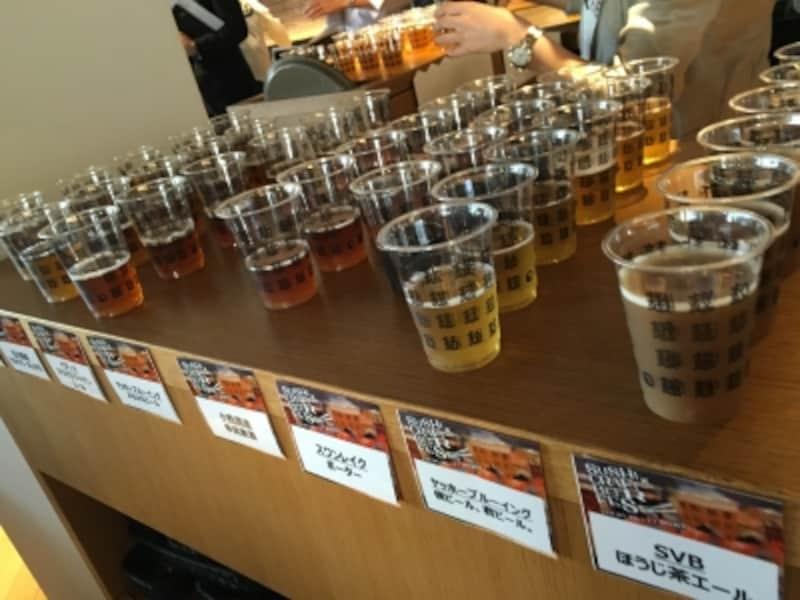 7社16種類!クラフトビールの数々