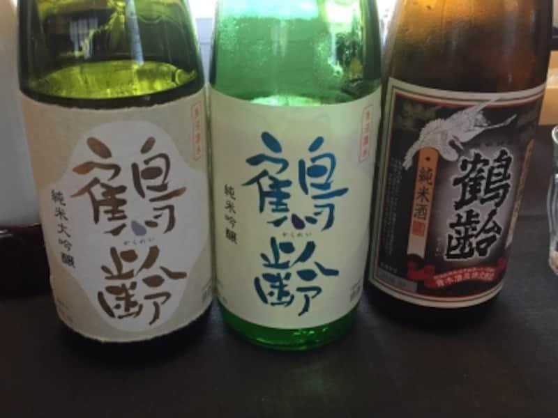 ちなみに個人的に好きな寿司とぴったりの日本酒「鶴齢(かくれい)」