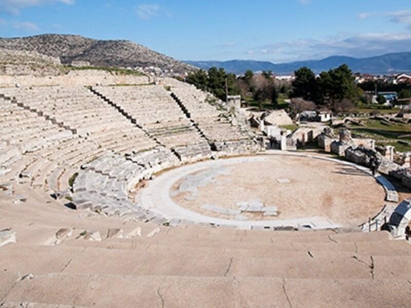 世界遺産「フィリッピの古代遺跡」円形劇場