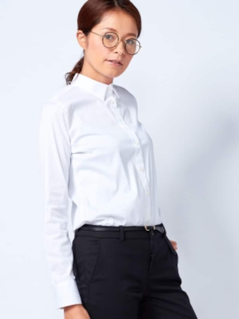 汗が気になるシャツスタイルもエアリズムで安心です。