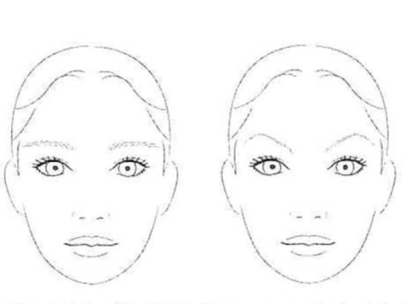 顔型をコントロールしてくれる眉