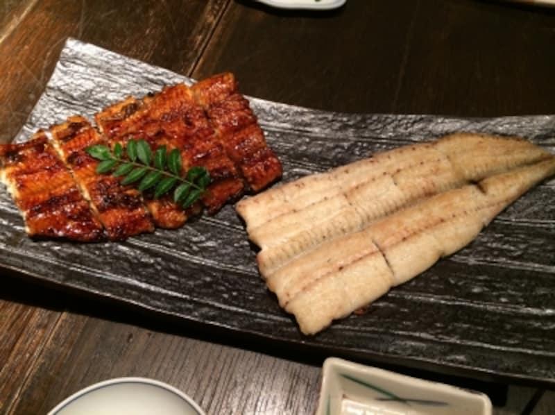 瓢六亭南平台undefined「白焼き蒲焼食べ比べ」