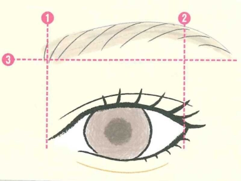 デカ目眉毛の法則