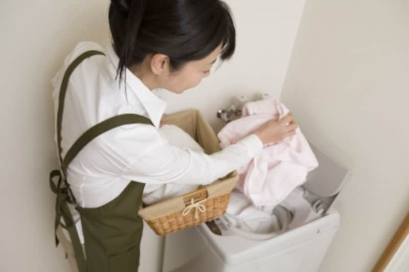 根本的に洗濯物を減らすことも節水につながります。