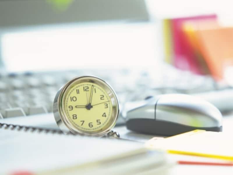 モノの量と時間の関係