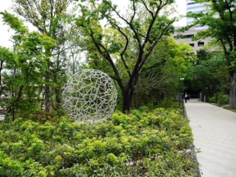 敷地内の緑