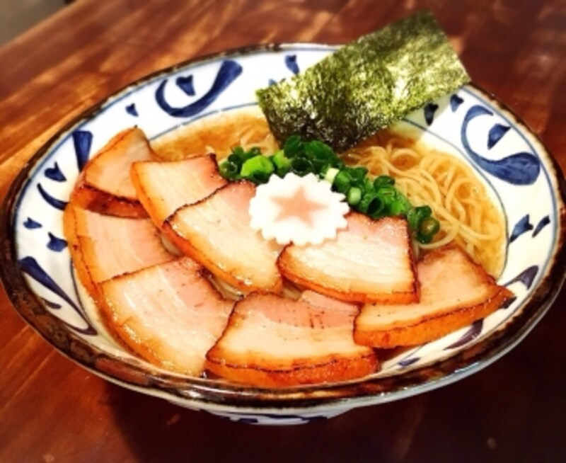 【静岡】肉が盛りもり手火山中華そば~潮と醤油の合わせ味~(チーム静岡)