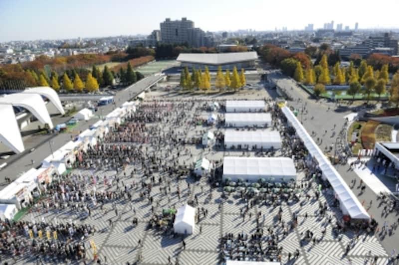 「東京ラーメンショー」undefined2015年は開催12日間のべ40万人動員という一大イベントとなりました